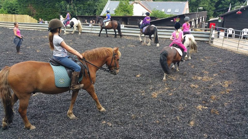Young Rider Club At Woldgate Trekking Centre
